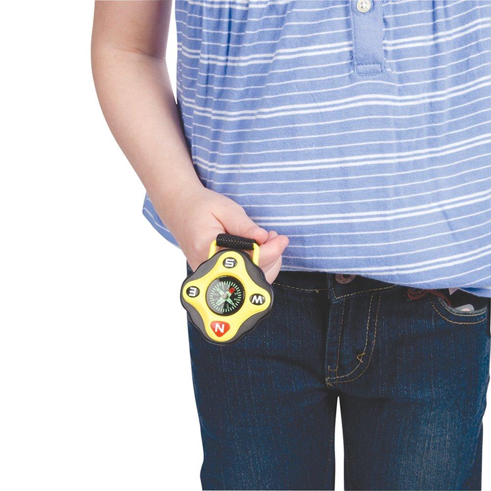 amazon com toysmith backyard exploration clip on compass toys