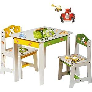 Kindermöbel tisch und stühle  Labebe - Schöner Holzstuhl mit Apfelmotiv / Zusatzstuhl für die ...