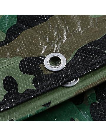 DLDL Lona de Camuflaje Cubiertas de lámina Impermeables Plástico PE Lona Sombrilla Toldo Camión con Aislamiento