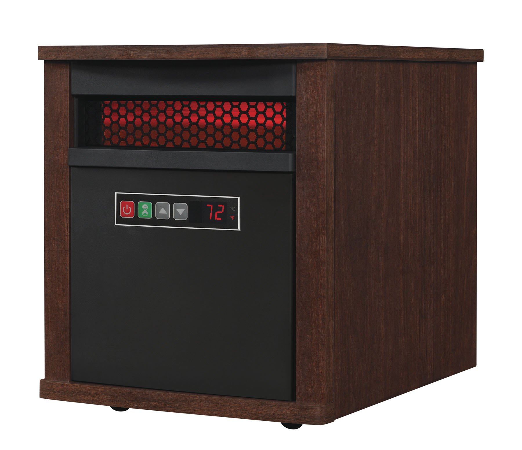 Duraflame 9HM7000-NC04 Portable Electric Infrared Quartz Heater, Cherry by Duraflame