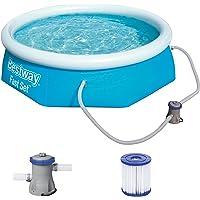 Bestway Fast Pool Set 244x66 cm, mit Filterpumpe