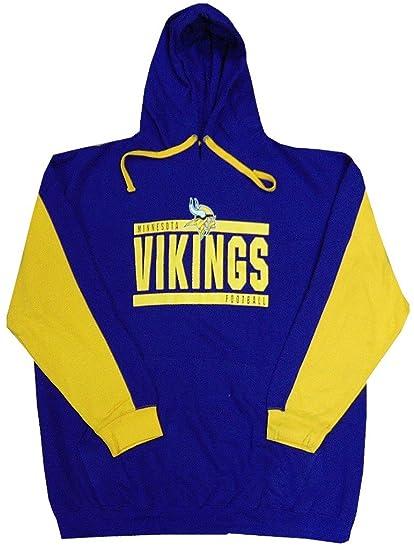 fe5c3fb77 Minnesota Vikings NFL Mens Majestic All Pro Pullover Hoodie Purple Big    Tall Sizes (5XT