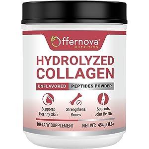 Colageno Hidrolizado en Polvo - Sin Sabor - Alta Absorcion - Para Rejuvenecer Piel Articulaciones y