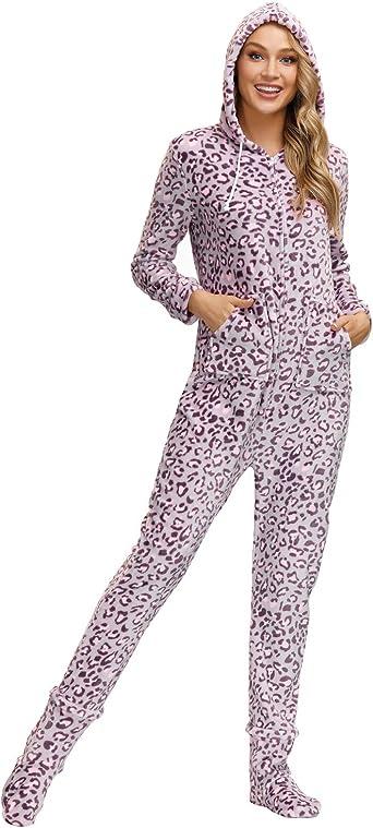 Zexxxy Femmes Combinaisons Super Souples pour Onesies Pyjamas S-XXL