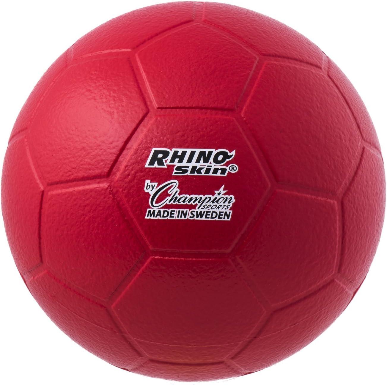 Amazon.com: Campeón Deportes Rhino Skin Balón de fútbol ...