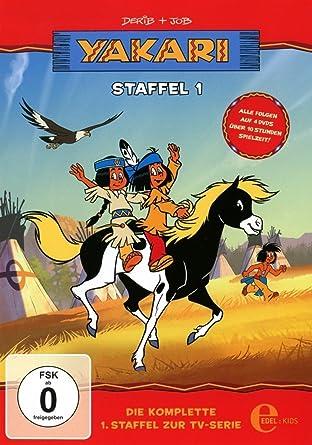 yakari staffelbox 1 amazon co uk dvd blu ray