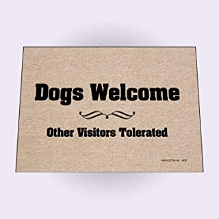 product image for HIGH COTTON Dogs Welcome Mat