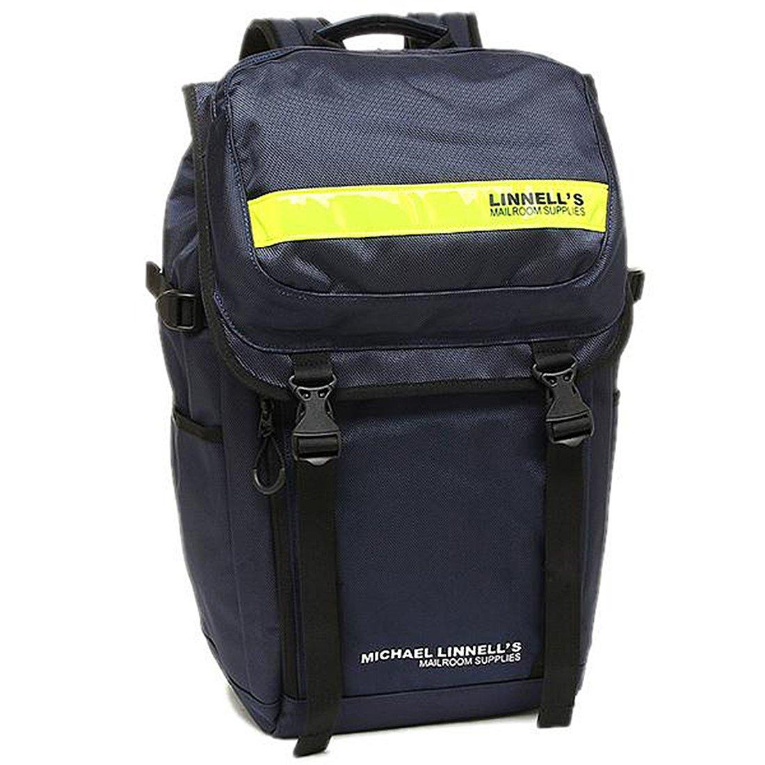 496257e0625f Amazon.co.jp: (マイケルリンネル) MICHAEL LINNELL MICHAEL LINNELL バッグ マイケルリンネル  ML-018 DOUBLE DECKER メンズ リュック・バックパック NAVY/YELLOW ...