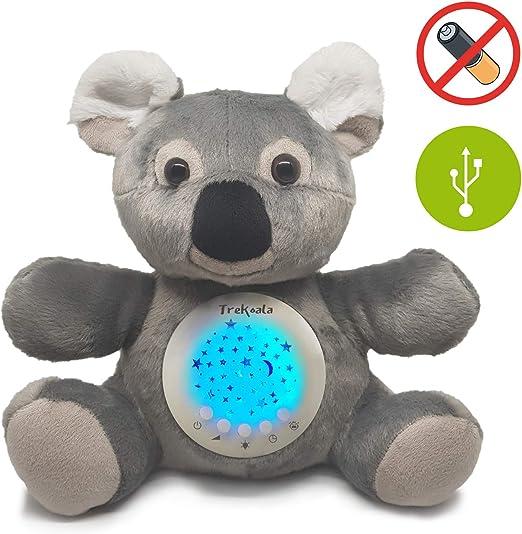 Trekoala ruidos blancos para bébé – sensor cry-baby – carga USB ...