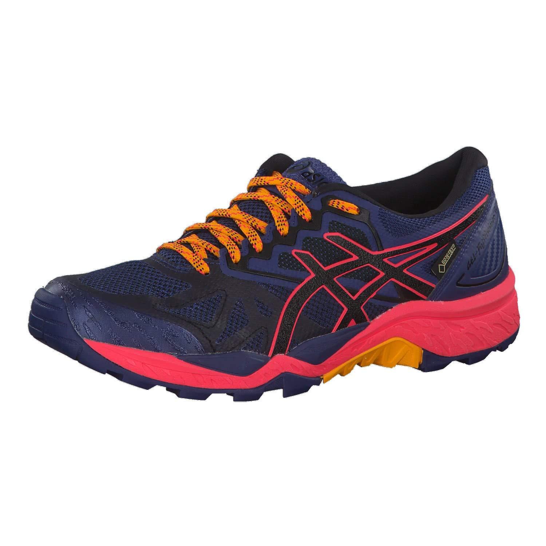Asics Gel-Fujitrabuco 6 G-TX, Zapatillas de Running para Asfalto para Mujer 39.5 EU|Azul