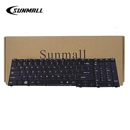 Amazon.com: C655 teclado para Toshiba Satellite, sunmall ...