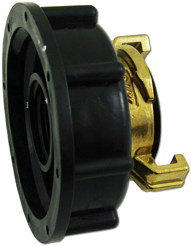 IBC Adapter IBC S60x6 Kappe mit Schnellkupplung (System GEKA) wt-discount