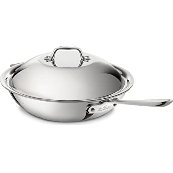 Amazon Com All Clad 5412 Stainless Steel Chef S Pan With