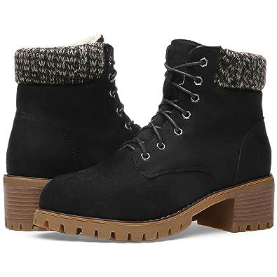 Amazon.com: Orkii - Botas de invierno para mujer, botas ...