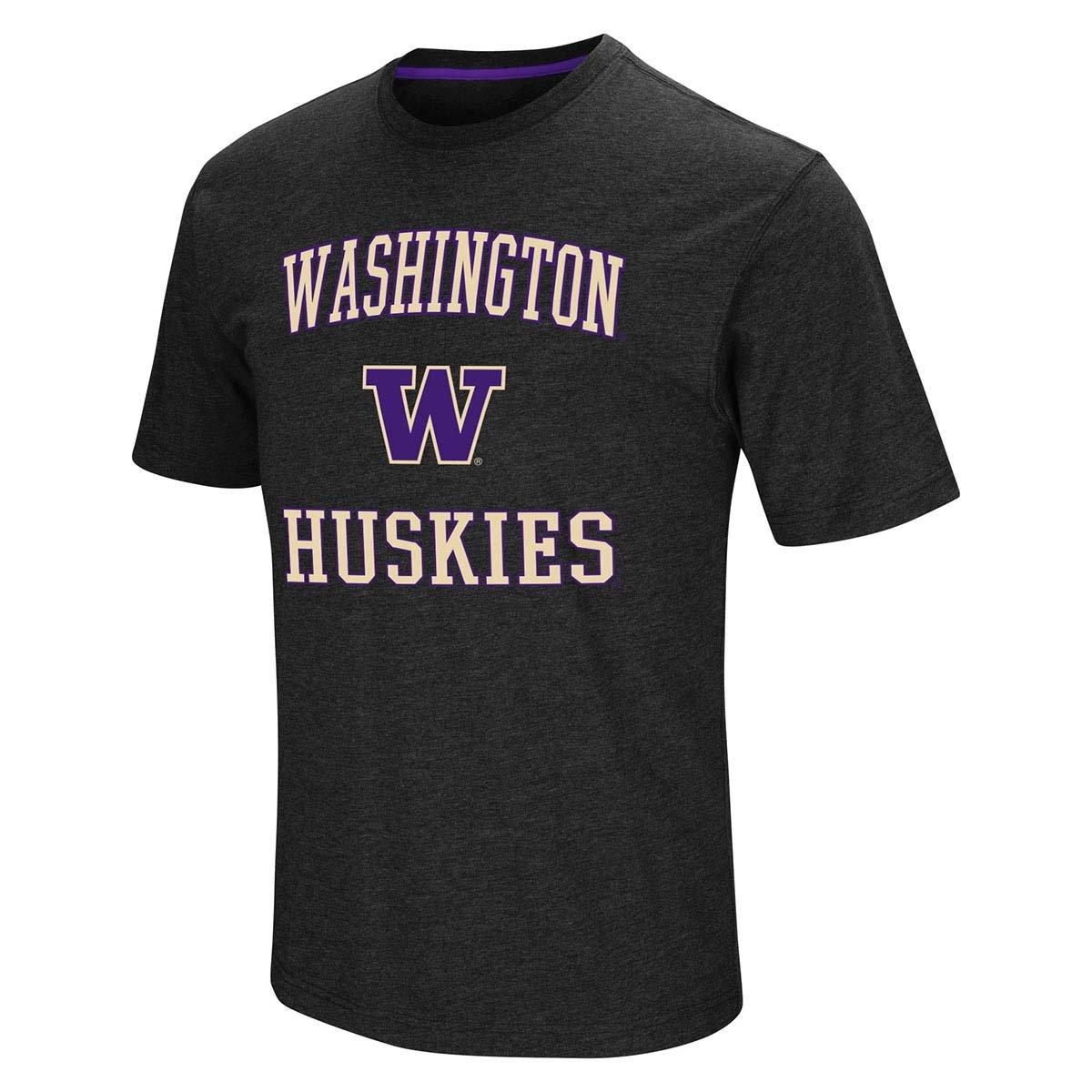 Washington Huskies NCAA Fun Run Tee (Black) L