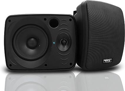 """Pyle PDWR54BTW Pair of 600W 5.25/"""" Waterproof Bluetooth Active Speakers"""