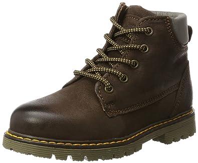 Bisgaard Unisex-Kinder Schnürstiefel Combat Boots, Braun (302 Brown), 31 EU
