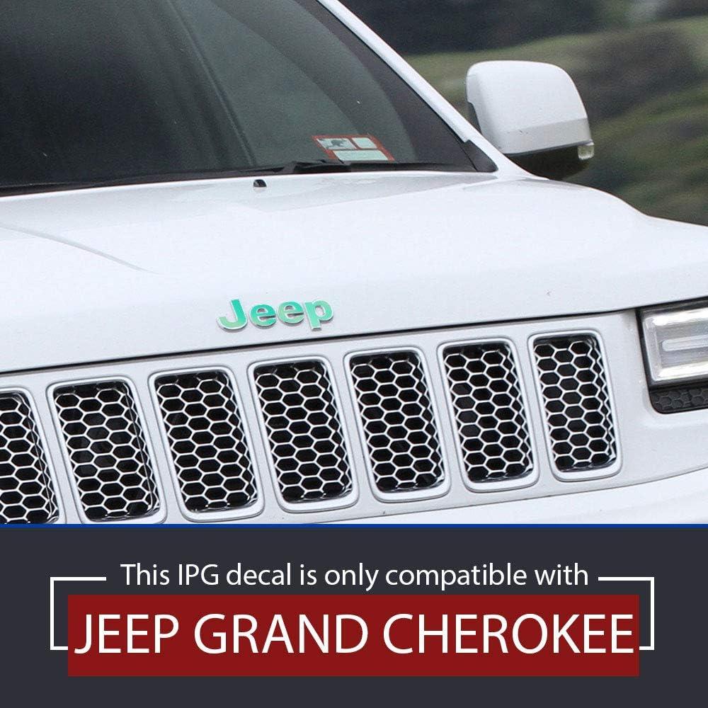 Pearl Red Do it Yourself 2020 vorne und hinten personalisieren Sie Ihre Grand Cherokee Aufkleber-Set IPG Aufkleber f/ür Jeep Grand Cherokee 2014 Emblem f/ür vorne und hinten Emblem