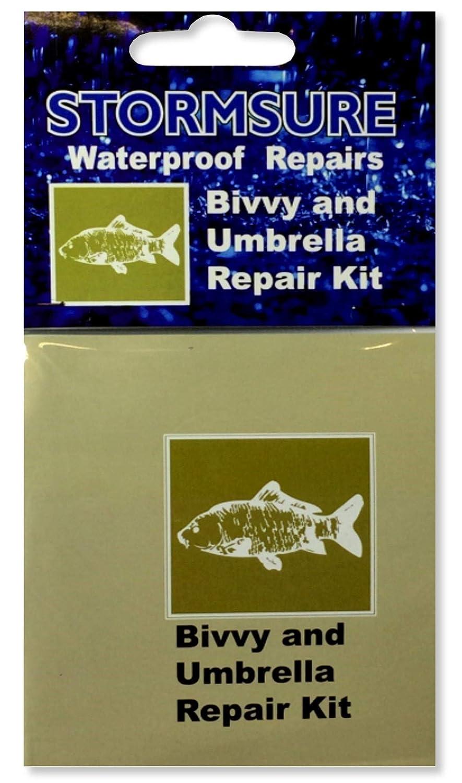 STORMSURE Waterproof Repairs Bivvy and Umbrella Kit Adhesive Glue Boot RKBIVVY