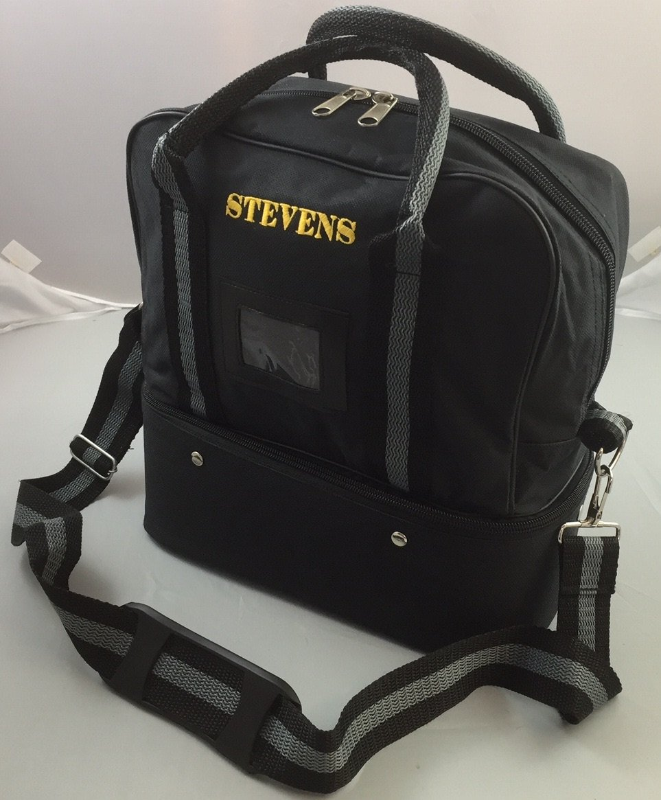 Stevens Tragetasche Schultertasche f/ür Bowlingkugeln fasst 2 Kugeln