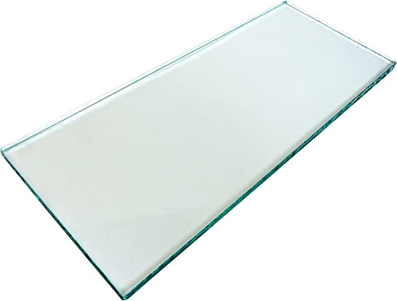 """Taytools Set of Two Pieces 5//16 x 3-1//4 x 8-1//4/"""" Dead Flat Float Glass"""
