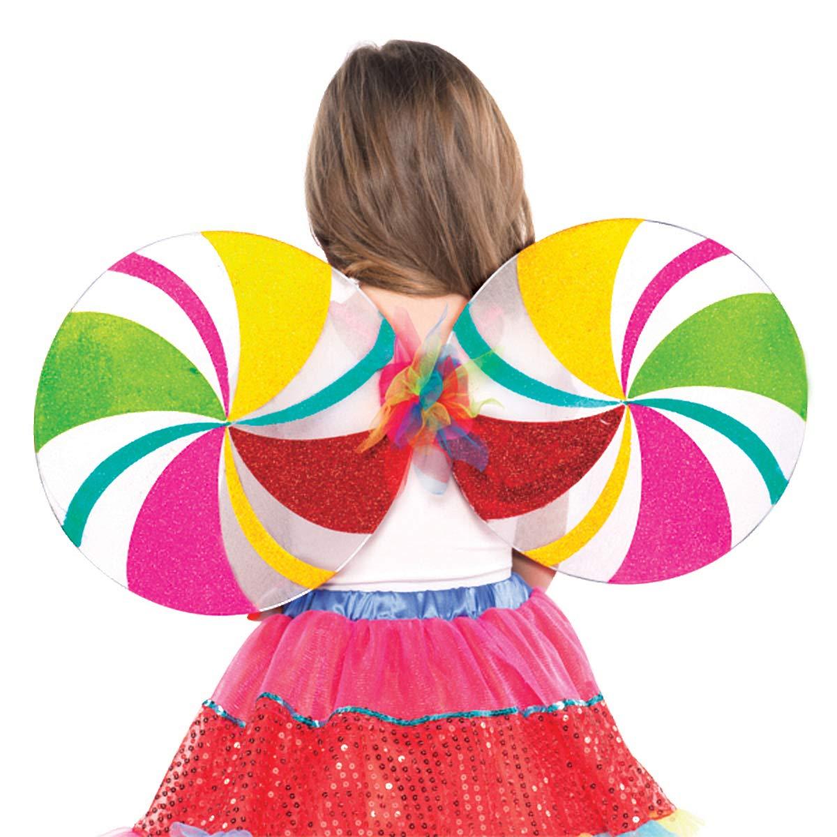 Lollipop Fairy Wings - Child   6 Ct.