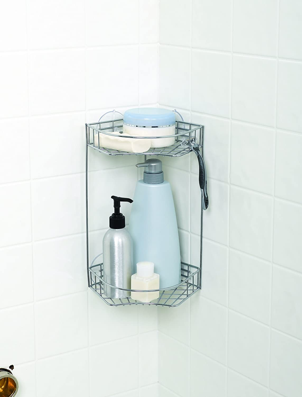 Amazon.com: Zenna Home 7605S, Bath and Shower Corner Caddy, Chrome ...