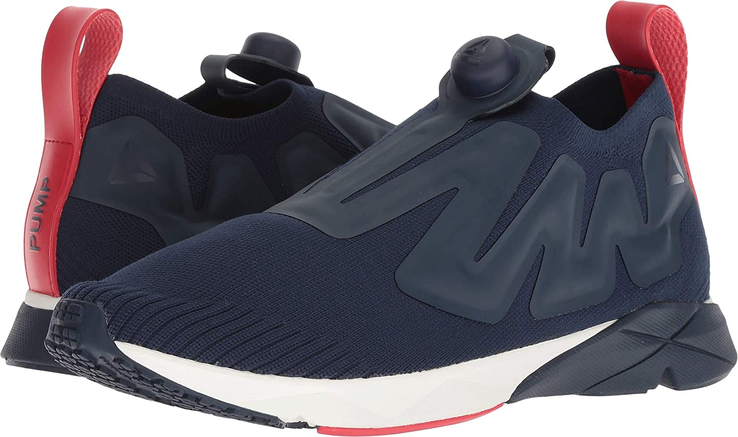 7c93beb5 Reebok Unisex Pump Sumpreme Collegiate Navy/Chalk/Primal Red/White 13 Women  / 11.5 Men M US Medium: Amazon.co.uk: Shoes & Bags