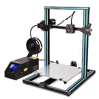 gucoco última CTC 3d impresora A10S grande marco de aluminio alta ...