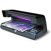 Safescan 70 Negro - Detector UV con luz LED para verificar la marca al agua y la microimpresión en billetes, tarjetas de…