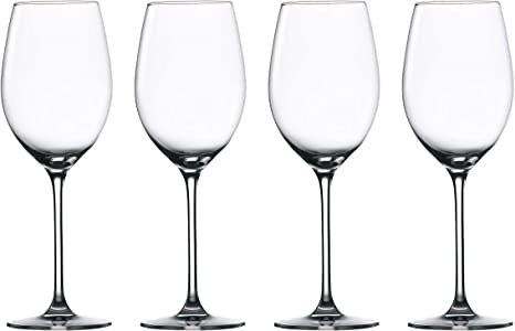 Amazon Com Waterford Marquis Moments White Wine 12 8 Oz Set Of 4 Clear Wine Glasses