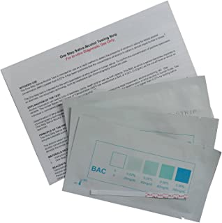 Alcohol Test Strips 25 individual foil wrapped tests: Amazon co uk
