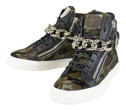 415ca14205ba4 Amazon.com   GIUSEPPE ZANOTTI London Camuf Hi-Top Sneakers Shoes ...
