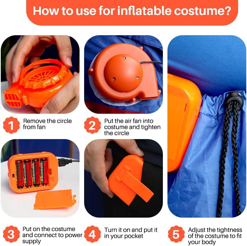 Costume Shine T-Rex Originals Mini Ventilador soplador para ...
