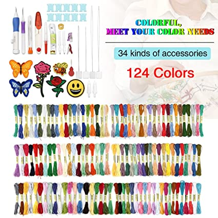 Amazon Magic Embroidery Pen Punch Needleembroidery Patterns