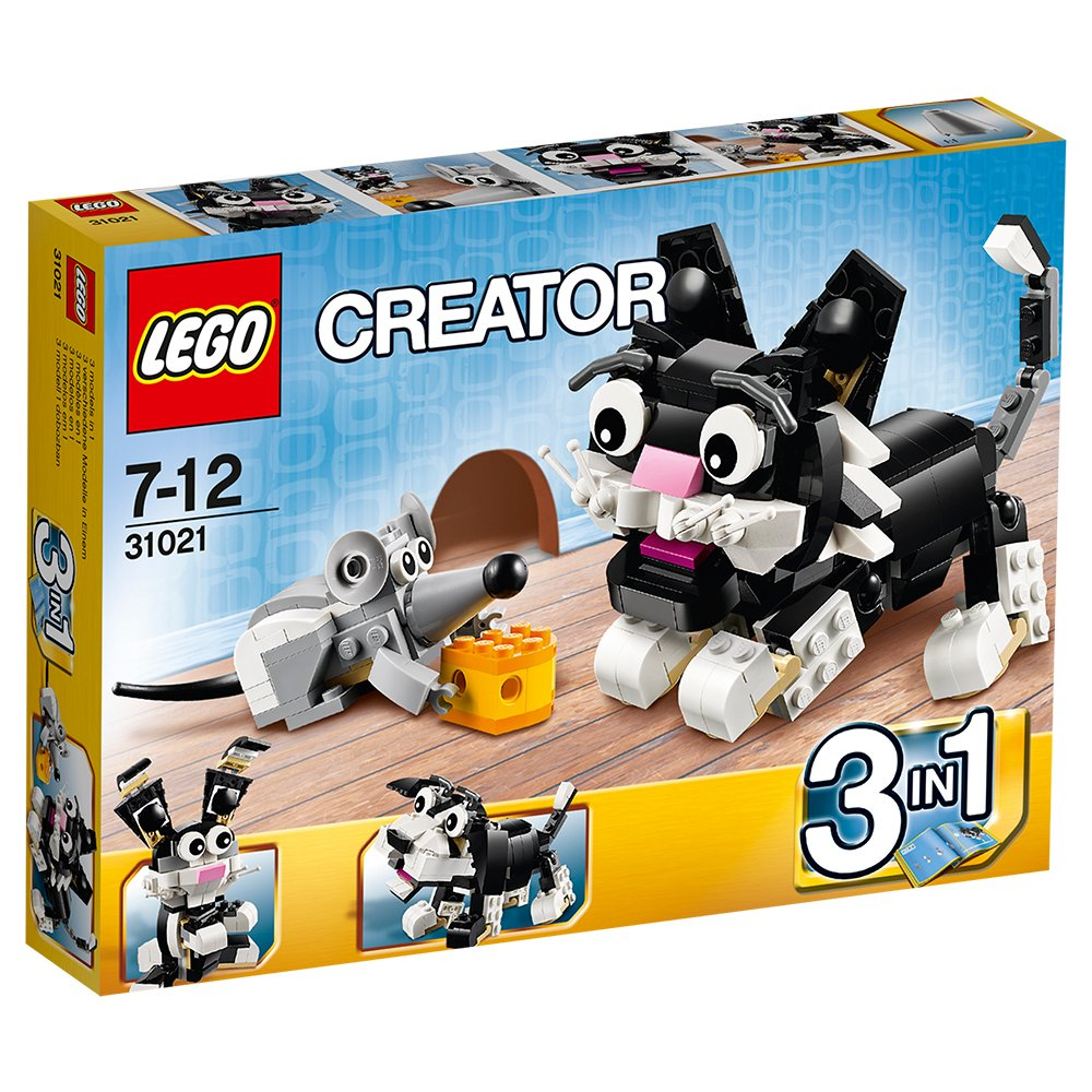 lego creator cat and mouse 31021 japan import the package and the manual are written in japanese figures amazon canada