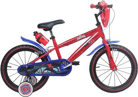 Bicicleta 16.Pulgadas Marvel Spiderman Niños Para Niños a Partir ...