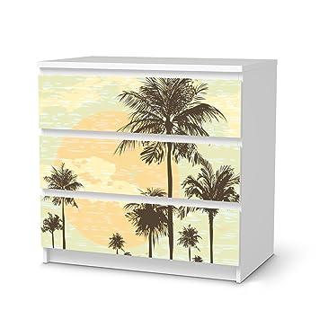 Sticker Möbel Für IKEA Malm 3 Schubladen | Möbelfolie Klebetapete Folie  Aufkleber Möbel Folieren | Kreativ