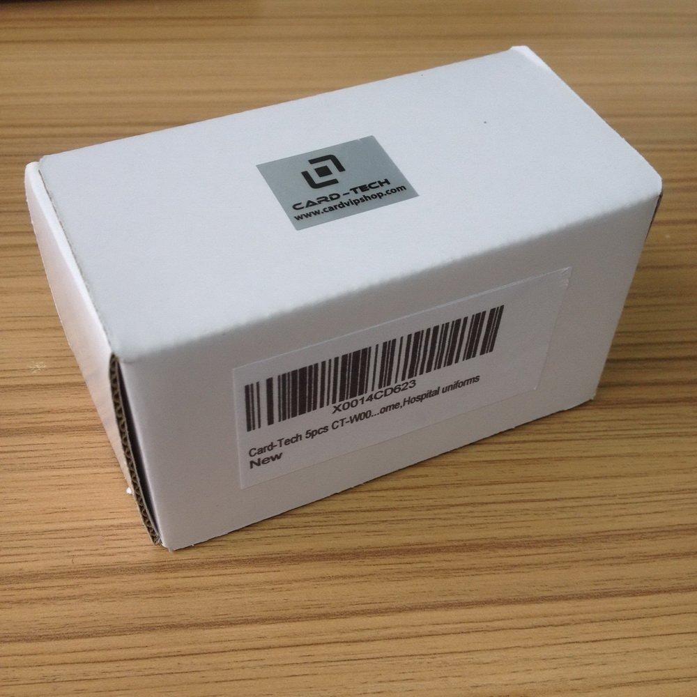 Card-Tech 10pcs RFID 125KHz Writable Rewrite T5577 Proximity Access Key fobs key tags