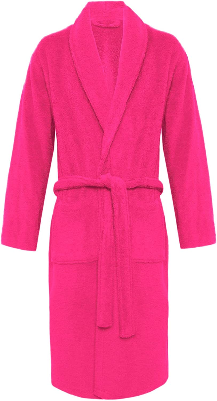 MyShoeStore Terry Bathrobe Unisex 100/% Egyptian Cotton Super Soft Terry Towelling Bath Robe Womens Mens Ladies Dressing Gowns Towel Nightwear Housecoat