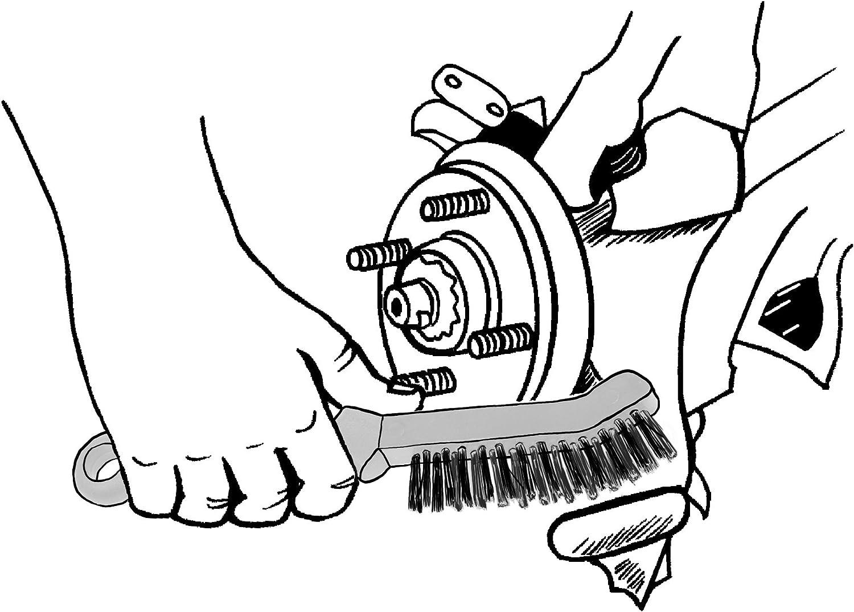 Lisle Tool 13410 Brake Caliper Brush