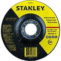 STANLEY Disco de Desbaste para Metal de 4.1/2 Pol. x 1/4 Pol. x 7/8 Pol. (114mm x 6,35mm x 22mm) STA0413