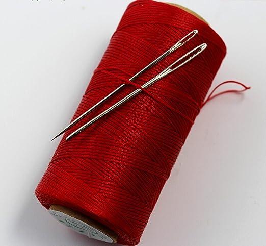 Hilo encerado y fuerte Chengyida (S049) para coser a mano, color ...