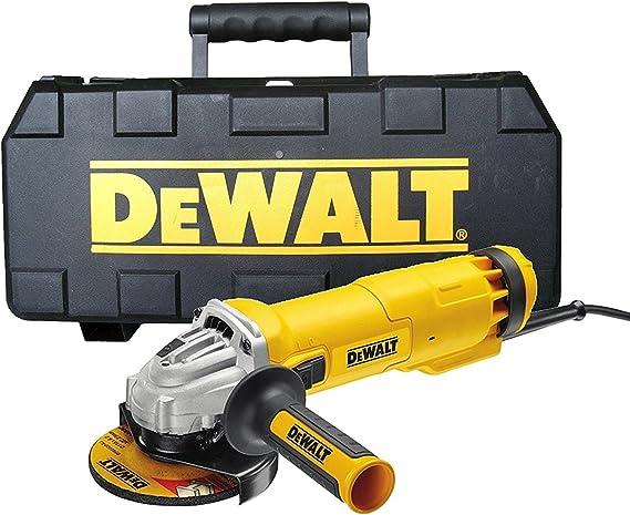 DEWALT DEWDWE4206KL DWE4206K 115mm Mini amoladora con Caja de ...