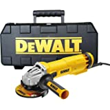 DeWALT DWE4206K-GB Angle Grinder, 240 V, Yellow/Black, Set of 5