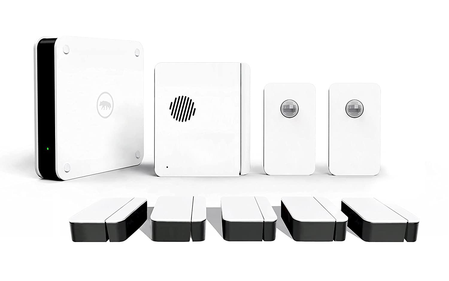 Scout Alarm Home Security System Wireless & DIY - 24/7 Professional Monitoring - No Long Term Contracts - Works with Alexa - 9 Piece Kit- Great For Homes Over 2000 Sq Ft