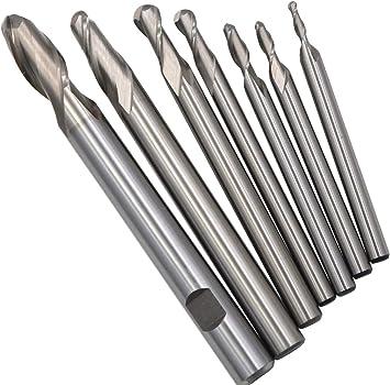 10pcs 3mm Three Flute HSS Aluminium End Mill Cutter CNC Bit