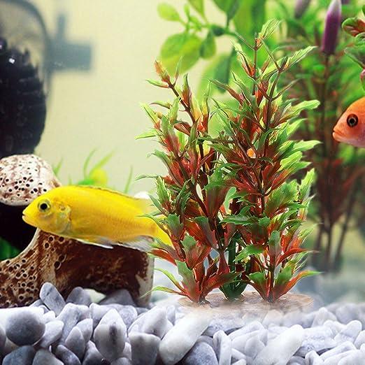 Plantas acuáticas de Runrain para decoración de acuario acuario con ...