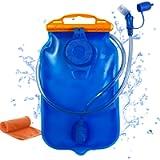 KUREIDA Hydration Bladder 2 Liter Leak Proof Water Reservoir,BPA Free,Wide Opening, Military Water Bladder Combined with…
