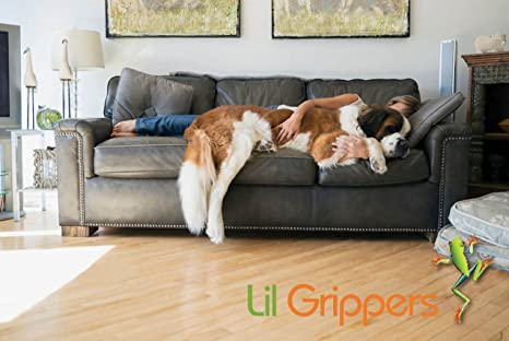 Lil Grippers Round Furniture Pads   Keep Furniture Where It Belongs! (1  Inch) 8 Pack     Amazon.com